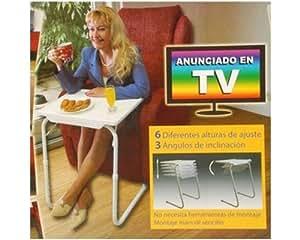 tablette hopital handicape plateau sur pieds reglable table inclinable