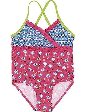 Playshoes - Badeanzug Blumen, Uv-Schutz Nach Standard 801 Und Oeko-Tex Standard 100, Pagliaccetti da bambine e...