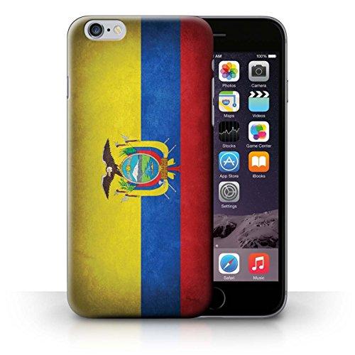 Hülle für iPhone 6+/Plus 5.5 / Schweiz/Swiss / Flagge Kollektion Ecuador/Ecuadorianischen