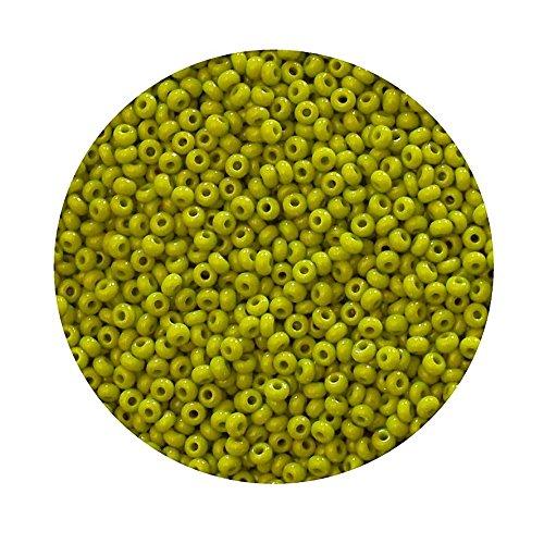 rocailles-perlen-preciosa-tschechische-glasperlen-9-0-26mm-1360stk-cz429-farbe-gelb-grn