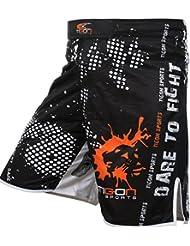 Tigon Pro lucha cortos UFC MMA Kick Boxing pantalones cortos pantalones gimnasio Gel