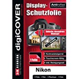 DigiCover Premium Film de Protection d'écran pour Nikon Coolpix P520 Transparent