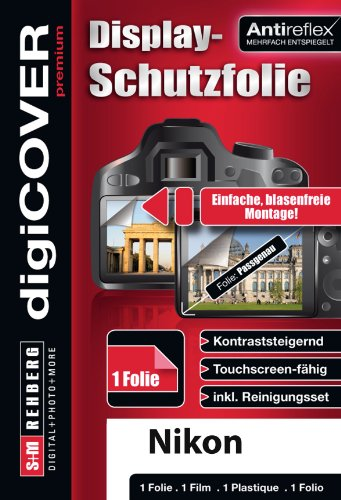 digiCOVER Kamera Displayschutz antireflex Nikon COOLPIX B500