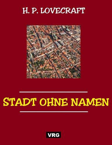 STADT OHNE NAMEN: Ein Roman des Grauens - Horror pur