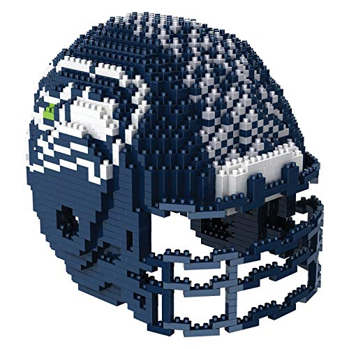 Seattle Seahawks NFL Football Team 3D BRXLZ Helm Helmet Puzzle