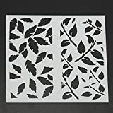 MASUNN Stratificazione Scrapbooking Pittura Stencils Goffratura Aerografo Modelli Craft Tools-06