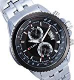 Style Feathers Analog Black Dial Men's W...
