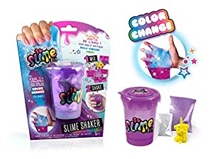 Canal Toys- So Asst Slime Shaker-Glow In The Dark/Color Change (SSC032), (1)