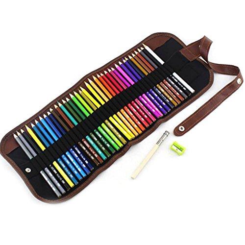 zantec farbigen Sechseck Holz Malen Bleistifte Zeichnen Anzug Art Supplies Kinder Geschenke