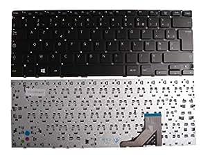 Clavier Français AZERTY pour ordinateur portable SAMSUNG NP532U3C Noir - Visiodirect -