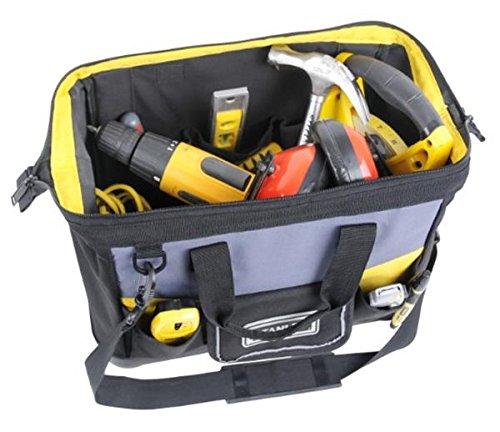 Stanley Werkzeugtasche, 44.7×27.5×23.5 cm, 600 Denier Nylon, verstellbarer Schultergurt, wasserdicht, 1-96-183 - 7