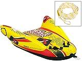 MESLE Tube Cruzer 1 Package, rot-gelb, mit Schleppleine