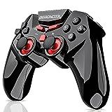 BEBONCOOL Bluetooth Gamepad contrôleur Noir/Rouge