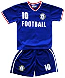 Default Football Summer Shorts Boys New Girls Top Vest Kit Set Size Age 2-14 Years BNWT