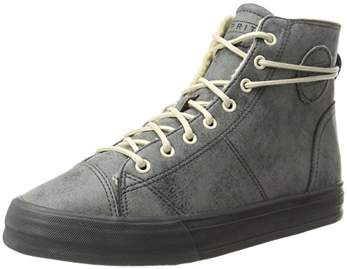 ESPRIT Damen Simona Bootie Hohe Sneaker, Grau (Dark Grey), 38 EU (Bootie Hohe)