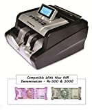 Bambalio BEE-4500 New Rs 500 & Rs 2000 Notes Counting & Detecting Fake Currency/money/Notes Counting Machine With Fake Note Detector & LCD Colour Changing Display-1 Year Warranty(Compatible With New Indian Currency-500 & 2000 Denomination)