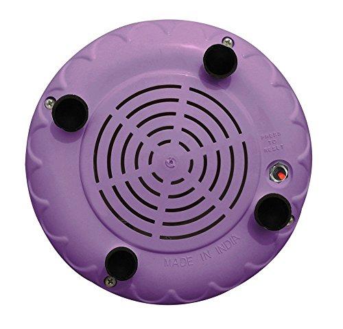 Inalsa Jazz 550-Watt Mixer Grinder with 3 Jars (Purple/White)