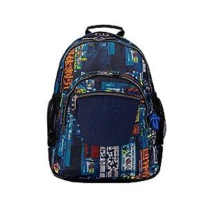 51zi9EgNEUL. SS300  - Totto MA04ECO002-1710N-3E4 Crayola Mochila Tipo Casual, 44 cm, 20 litros, Multicolor