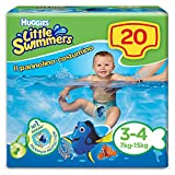 HUGGIES Littles swimmers maxi pack Taille 3/4 X 20 - Mixte - Livr� a la naissance