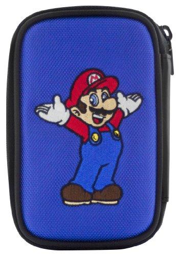 e Super Mario Tasche Schutz-Hülle Etui Case Bag für Nintendo New 3DS 3DS DSi DS Lite Konsole, farblich sortiert (Mario Dsi Spiel)