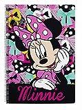 Minnie Mouse Disney Block Spiralblock A4 Mappe 80 Blatt (1)