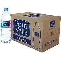 Font Vella - Agua Mineral Natural - Caja 15 x 1L