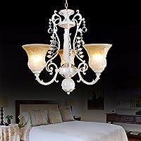 ZQ@QX Design per la casa e decorazione illuminazione lampadari Lampadario rurale soggiorno camera da letto creativo Lampadario in ferro, C (senza sorgente di luce)