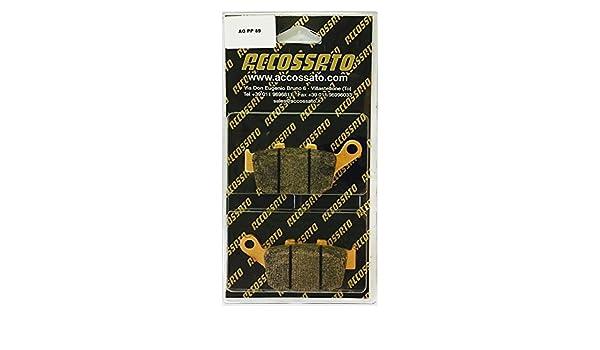 2004-2010 BUELL  XB12R 1200 FIREBOLT Accossato Pastiglia freno AGPP89ST 1200
