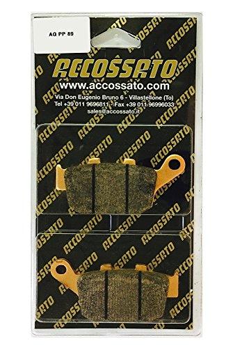 Accossato Pastiglia freno AGPP89ST, TRIUMPH > 800 TIGER, 800 (2011-2014)
