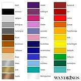 "Wandkings Wandtattoo ""Skyline Kiel"" 200 x 40 cm – Schwarz – 35 Farben zur Wahl - 4"