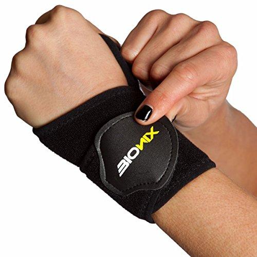 Neopren-klammer (Bionix Neopren-Handgelenk-Stützschiene, Arthritis-Daumen-Klammer - Neopren-Hilfe für Karpaltunnel, RSI, Arthritis, Tendonitis u. Verstauchungen für schwache oder entzündete Handgelenke, eine Größe, passt für die linke oder rechte Hand)