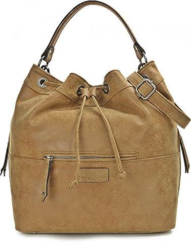 MIYA BLOOM, Damen Handtaschen, Shopper, Schultertaschen, Umhängetaschen, Beuteltasche, Hobo Bucket