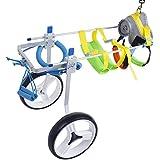 SehrGo Silla de ruedas para perros ajustable, Altura de cadera 7