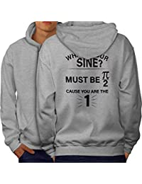 wellcoda Geek Math Numbers Mens Sweatshirt Funny Casual Jumper