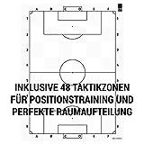 1x1SPORT Taktikfolie #FUSSBALL V2 – Spielfeldfolien für Taktik, Aufstellungen, Spielzüge und Übungen (Taktikfolie V2 80×60) - 3