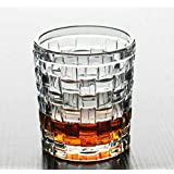 Glassware Water Glasses Set Of 6 290 Ml Juice Glasses Set & Drinking Glass Set Wine Glasses Set (Whiskey Glasses Set) Kitchen & Dining Drinkware Crystal Glass