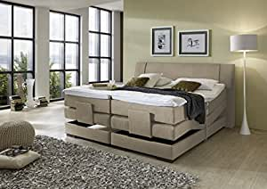 brisbane plus inkl motor boxspringbett hotelbett amerikanisches bett designbett 200x200. Black Bedroom Furniture Sets. Home Design Ideas