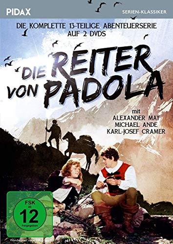 Die Reiter von Padola / Die komplette 13-teilige Abenteuerserie (Pidax Serien-Klassiker) [2 DVDs]