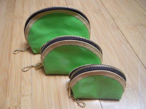 fat-catz-copy-catz , Damen Clutch green 3 in 1 coin purse