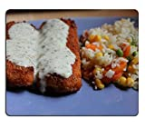 (Maus - Pads) - Mousepad Gaming Mouse Pad frittierten fischsauce Reis, Gemüse und Naturkautschuk Material X18126 YANTG PN00 Verkauft.