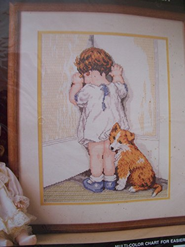 Bucilla Counted Cross Stitch, In Disgrace by Bessie Pease Gutmann -