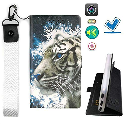 Lovewlb Coque pour Teeno 6.18' Plein HD éCran Smartphone 4g Coque Cover Case Housse Flip Cuir PU + Etui en Silicone Fixe Protection LH