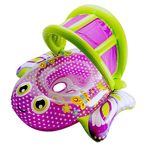 Aqua Leisure Bouncing Butterfly Baby Boat by Aqua...