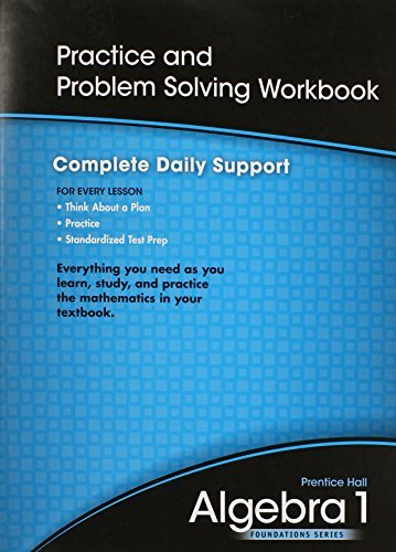 HIGH SCHOOL MATH 2011 ALGEBRA 1 FOUNDATIONS PRACTICE & PROBLEM SOLVING WORKBOOK by AGS Secondary (2009-05-15) par AGS Secondary