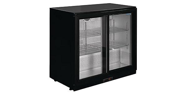 Minibar Kühlschrank Polar : Monster led kühlschrank: polar doppelte schiebetür l rückseite bar