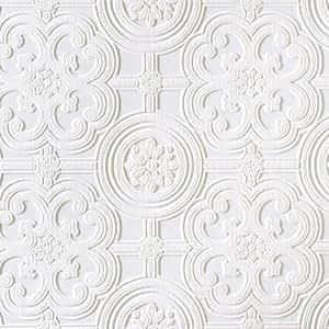 Brewster rd80029Anaglypta Tapete, 53cm x 396-inch, Whites