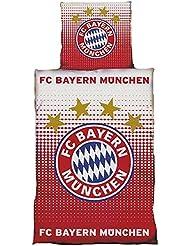 FC bayern münchen parure de lit 135 x 200 cm