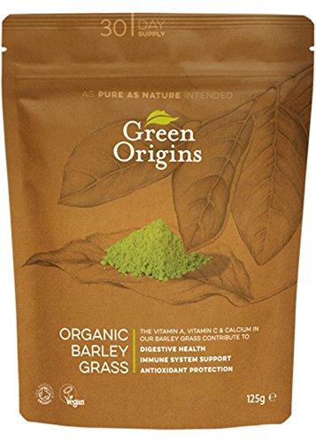 Green Origins Bio-Gerstengras-Pulver, 1er Pack (1 x 125 g) (Tee Gerste)