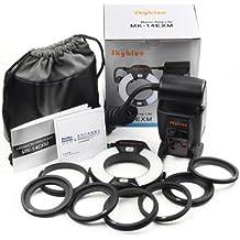 Meike MK-14EXT TTL Flash anular LED para macrofotografía para Nikon i-TTL D7000 D600 D800 D7100 D5200 D4