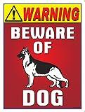 #8: The Kitabwala Sign Beware Of Dog Poster Sign (9